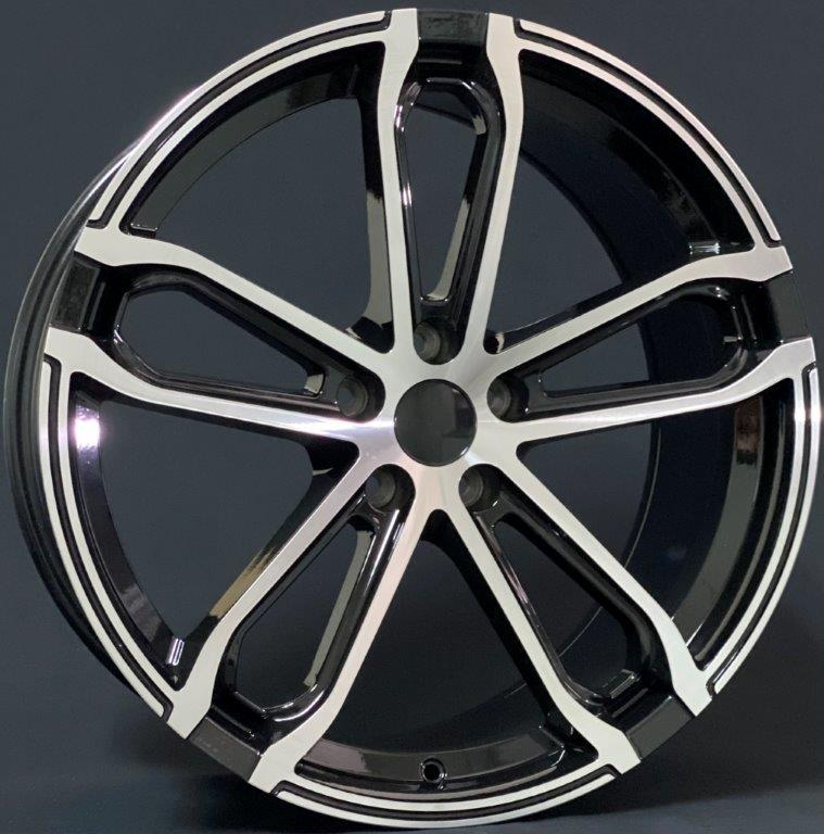 ALLOY WHEELS K-II 55023 BKP
