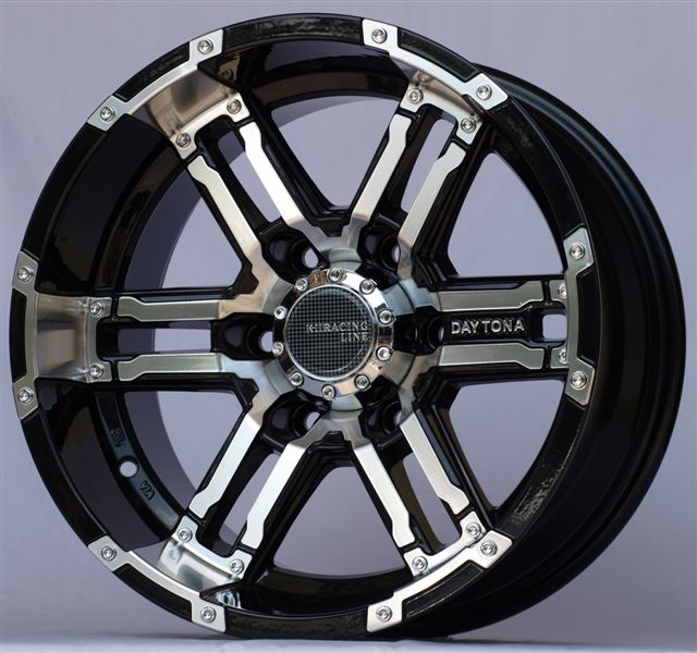 ALLOY WHEELS K-II 139 BKP